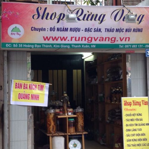 Cửa hàng Rừng Vàng - 35 Hoàng Đạo Thành, Kim Giang, Thanh Xuân, Hà Nội