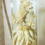 đinh lăng điêu khắc gà năm đinh dậu