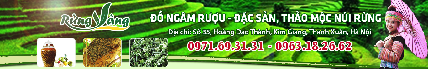 Shop Rừng Vàng – Đặc sản Thảo Mộc từ núi rừng Việt