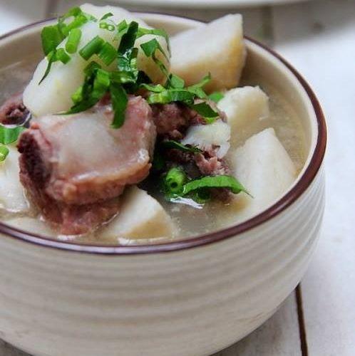 ngon ngất ngây với món khoai sọ Thuận Châu