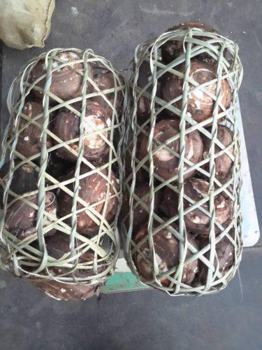 Vận chuyển khoai sọ về xuôi thường đóng vào sọt
