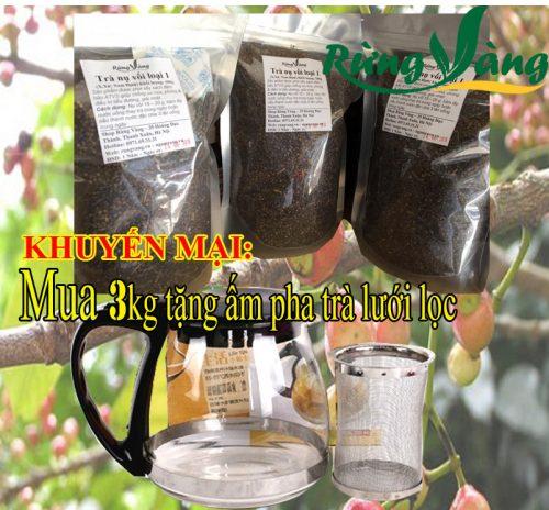 khuyến mại khi mua nụ vối khô tại shop Rừng Vàng