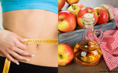 giấm táo mèo giảm cân hiệu quả