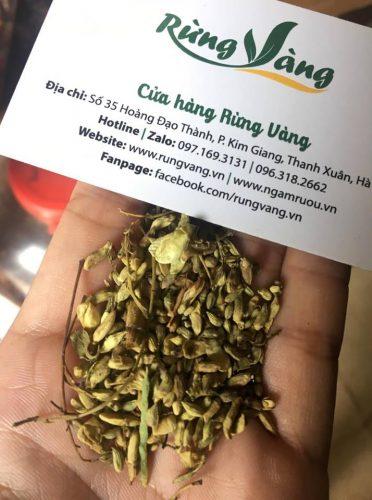 sản phẩm hoa hòe chất lượng cao tại Shop Rừng Vàng