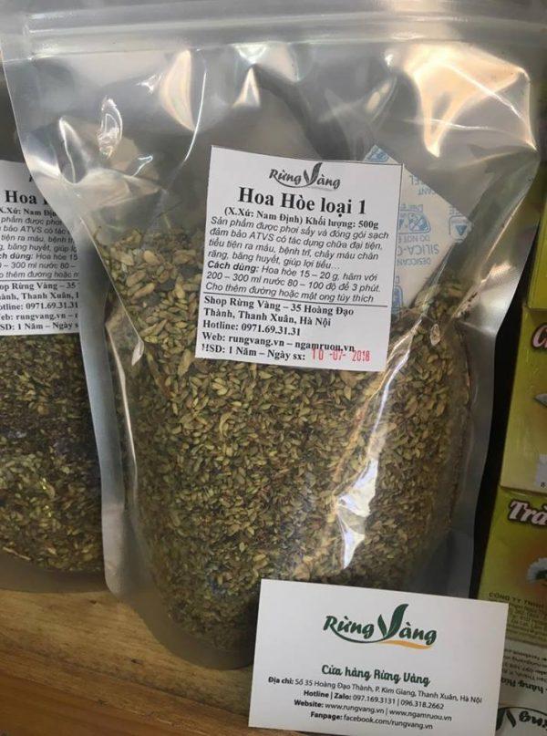 trà hoa hòe khô