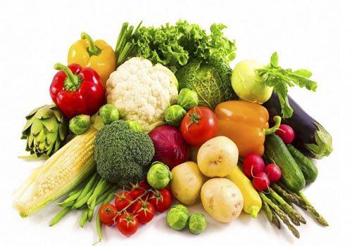 Ăn nhiều chất xơ, thực phẩm ít purin, rau củ quả, thịt trắng…