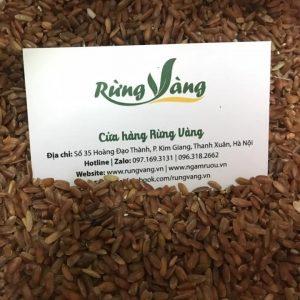 Gạo lứt đỏ Điện Biên
