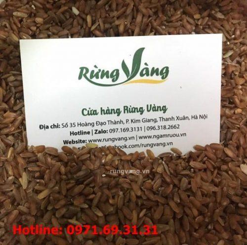 cách dùng gạo lứt đỏ