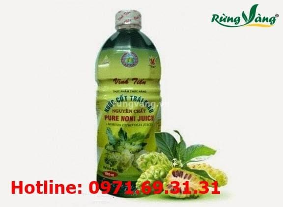 tác dụng của nước cốt trái nhàu
