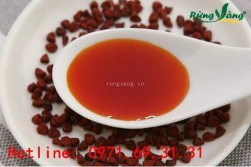 Dầu điều đỏ là gì? Cách dùng trong chế biến các món ăn chuẩn nhất