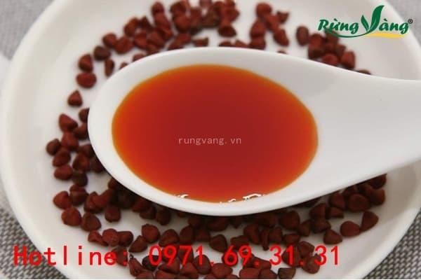 Cách dùng dầu điều đỏ trong chế biến món ăn