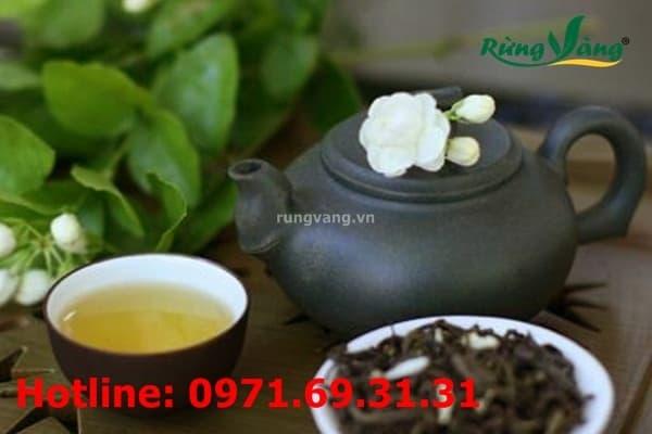 Cách pha trà hoa nhài thơm ngon