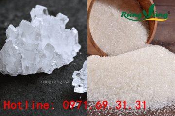 Đường phèn khác đường cát trắng như thế nào? Cái nào tốt hơn?