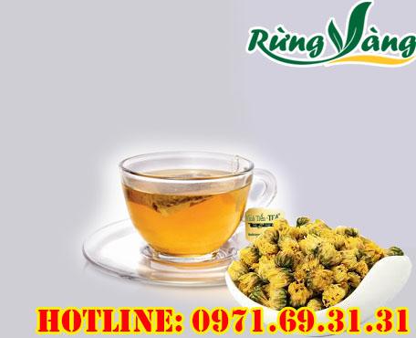 dùng trà hoa cúc thường xuyên rất tốt cho sức khỏe