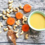 Cách dùng bột quế trong các món sữa hạt điều cà rốt ngon mê ly